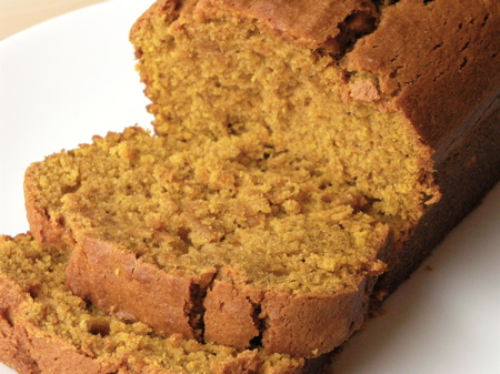 Ginger's Moist Pumpkin Bread
