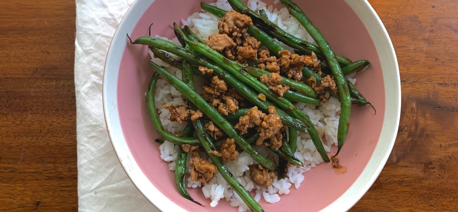 Spicy Green Bean & Pork Stir-Fry