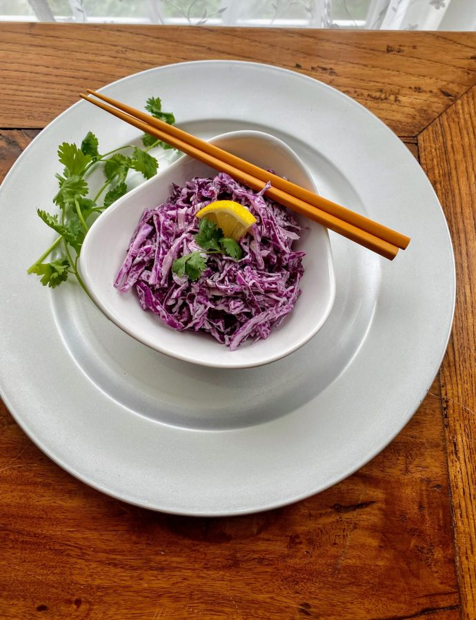 Homemade Coleslaw- 4 Ingredients