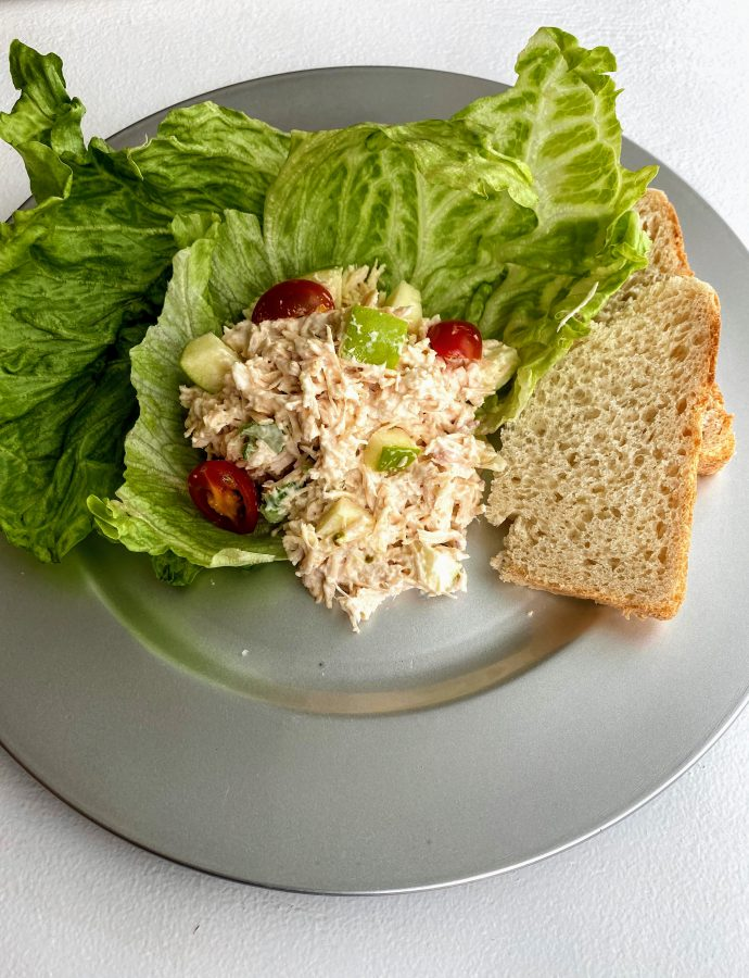 Chicken Salad with Green Apples