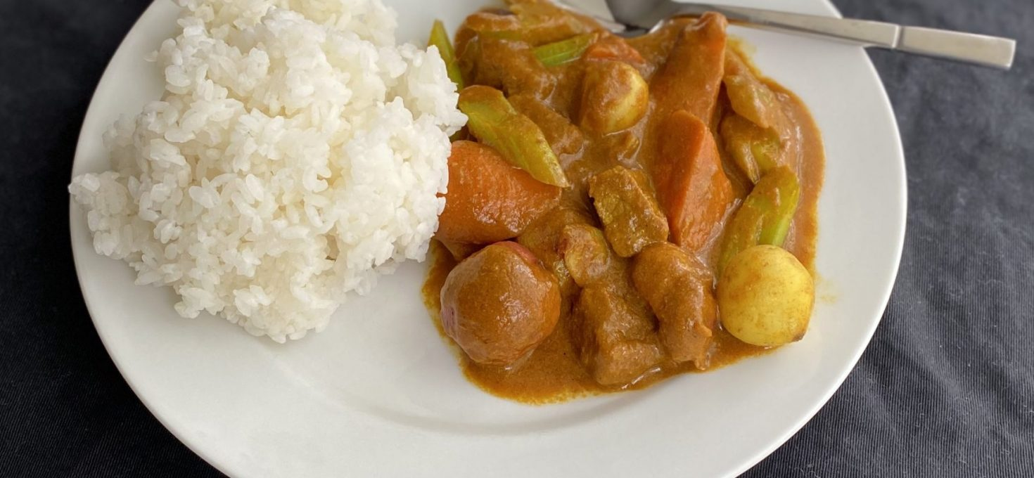Beef Curry with Vegetables
