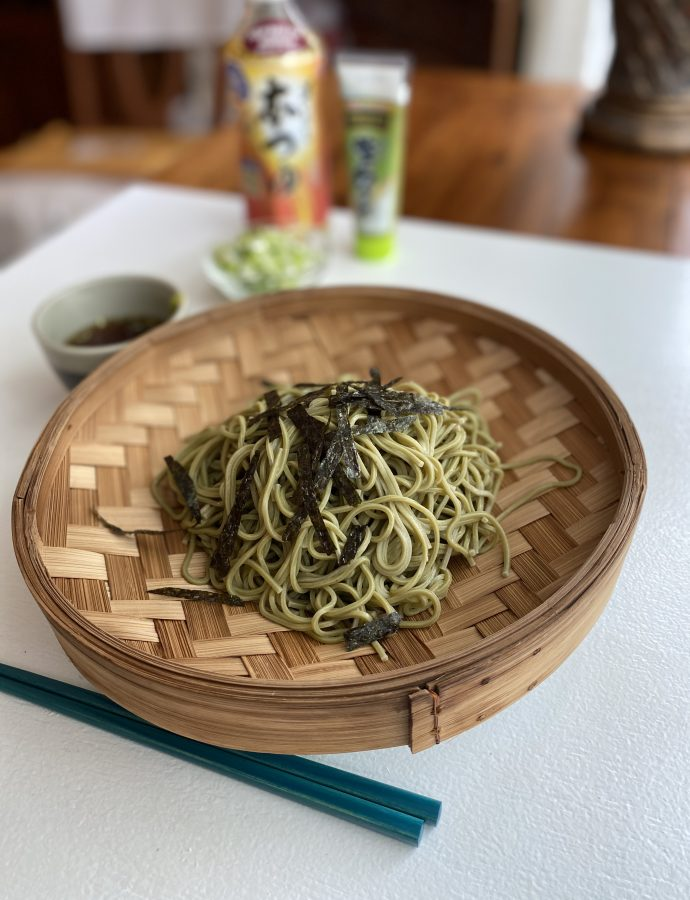 Green Tea Noodles – Cold Chasoba