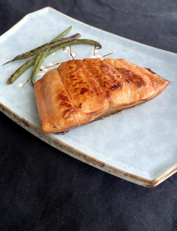 Traditional Teriyaki Glazed Salmon