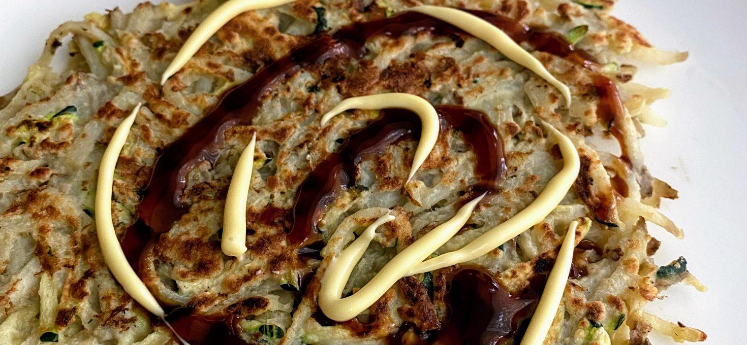 Shredded Potato & Zucchini Pancake