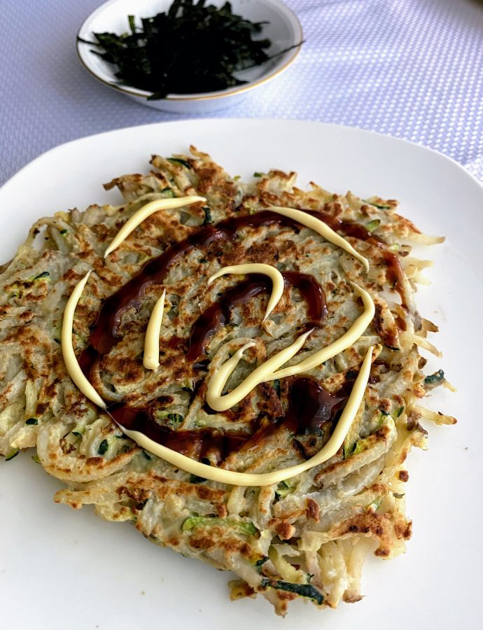Shredded Potato & Zucchini Pancake