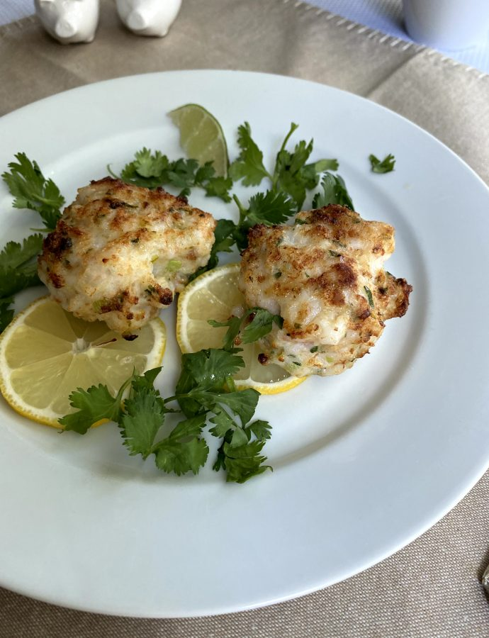Broiled Shrimp Burgers with Spicy Remoulade