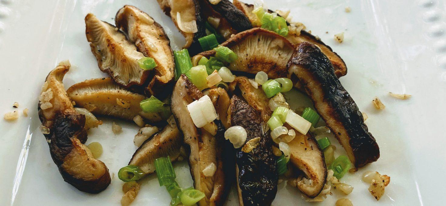 Sauteed Shiitake Mushroom Mix