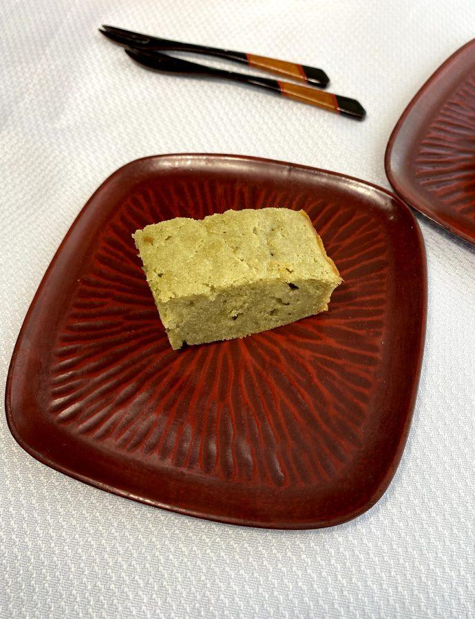Matcha Mochi Sponge Cake